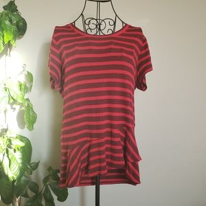 CLEARANCE!! Cabi striped very soft tshirt